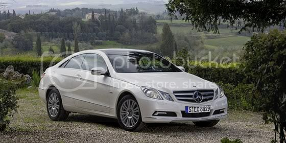2010 Mercedes Benz-E-Class Coupe Auto Tribute